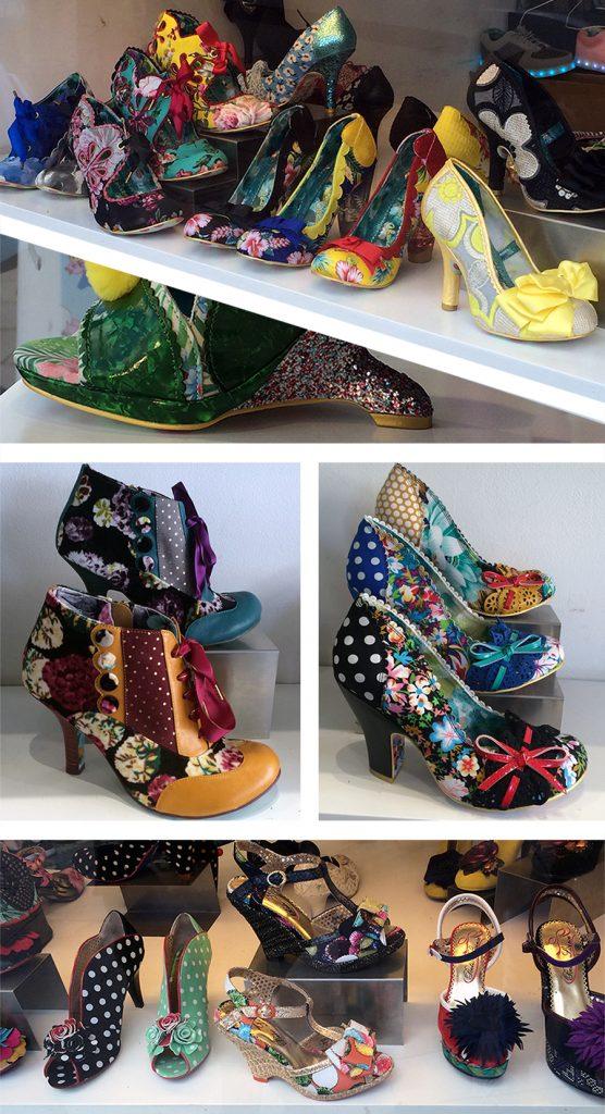 Shoe heaven! Solche Schuhe haben wir noch nirgends gesehen.