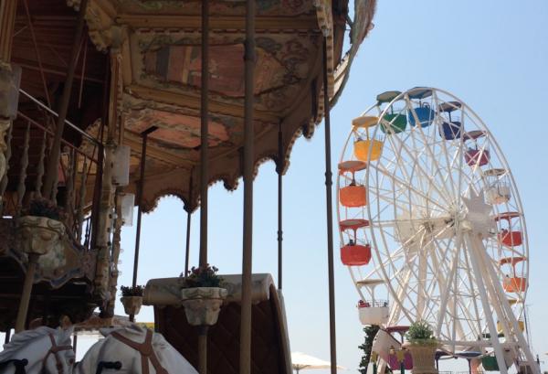 Nostalgie pur hoch oben auf dem Tibidabo