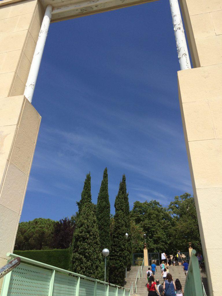 Der Eingang in den Parc del Laberint d'Horta