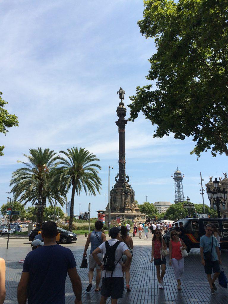 """Der """"Mirador de Colom"""", die Kolumbus-Säule"""