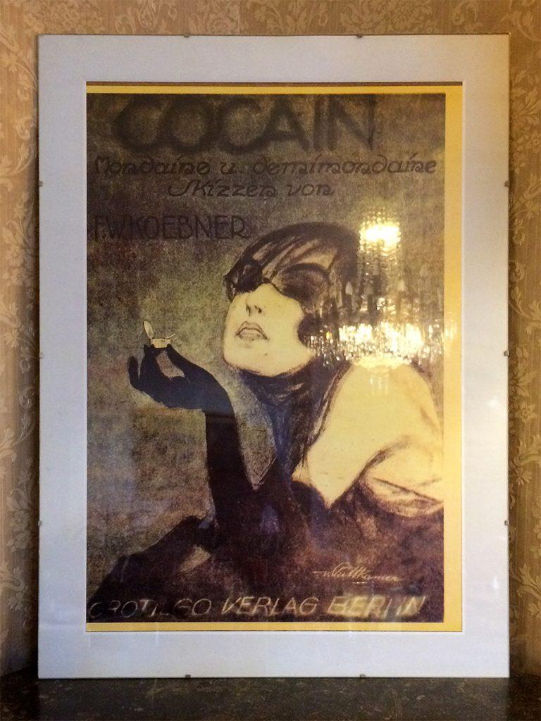 Die allgegenwärtige Asta Nielsen - dieses Plakat wirbt übrigens für einen drogenkritischen Film, damals schon.