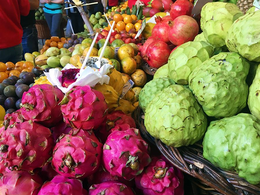 Von bekanntem und unbekanntem Obst und Gemüse...