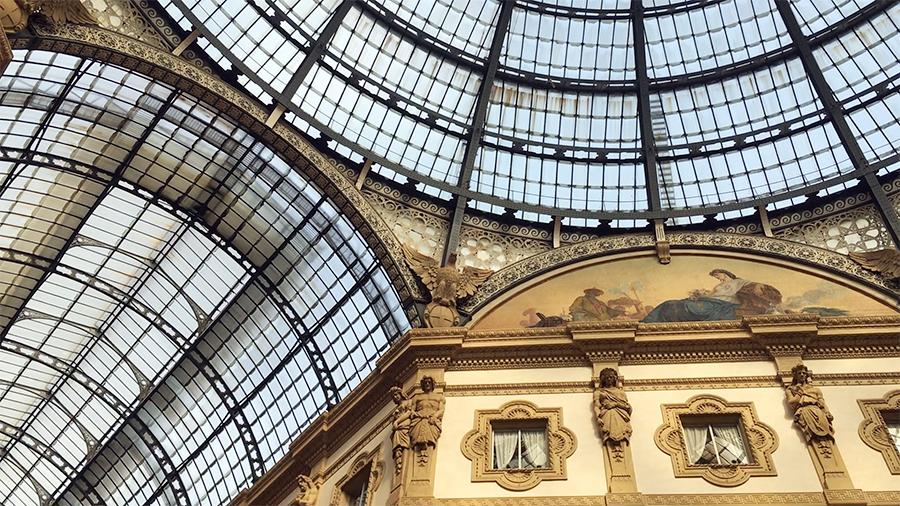 ... der Galleria Vittorio Emanuele II...