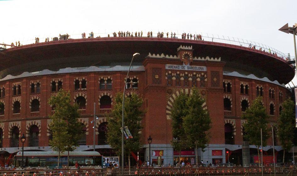 Die Arenas de Barcelona, ehemals Stierkampfarena, heute ein Einkaufszentrum