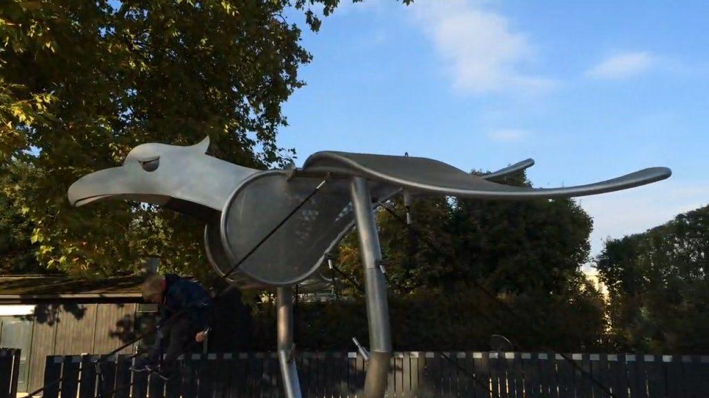 Eins von vielen liebevoll gestalteten und durchdachten Elementen des Spielplatzes von Schönbrunn.