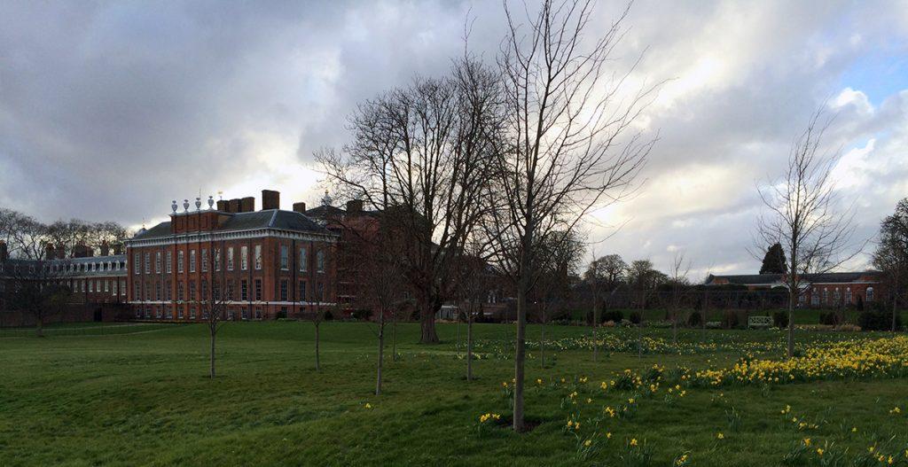Kensington Palace - Zuhause von William und Kate.
