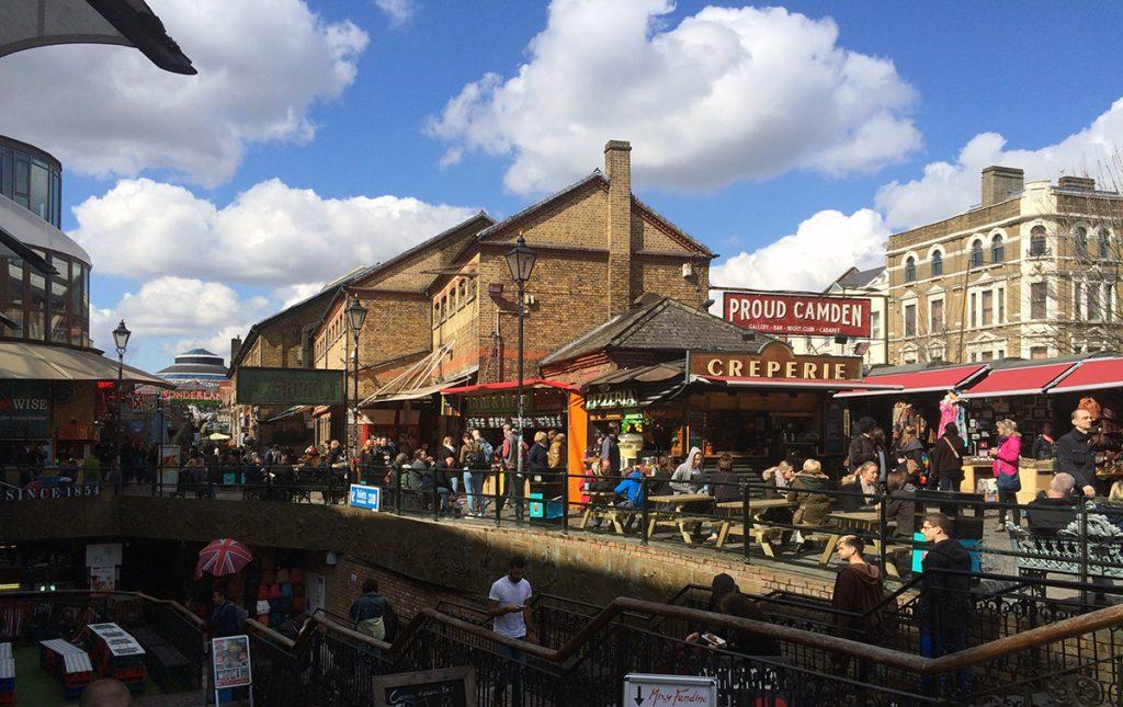 Der Camden Lock Market geht immer noch weiter und weiter. Es ist schwer, den Überblick zu behalten - aber vielleicht ist das auch gar nicht so wichtig.