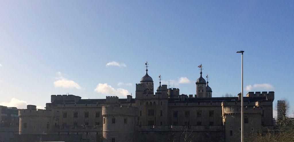 Wahrhaft imposant - der Tower von London.