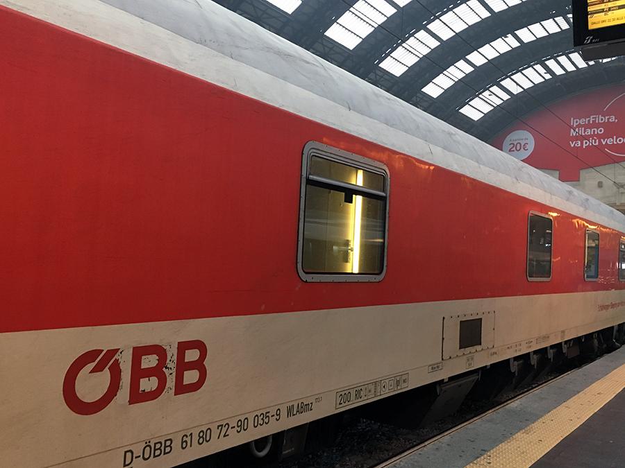 Die österreichische Bundesbahn ÖBB ist eine der letzten Betreiber von Nachtzügen in Europa.