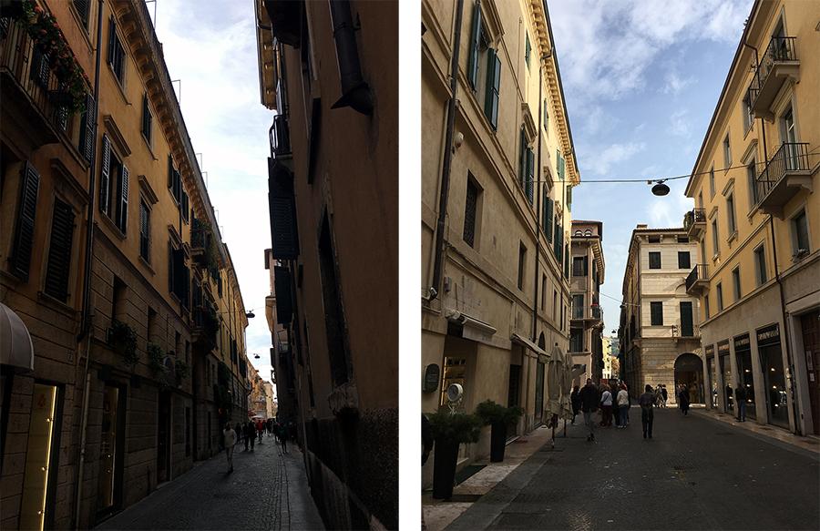 Verona gefällt uns wirklich gut, alles sehr sauber, schöne Gebäude, aber nicht zu protzig - einfach total angenehm, hier zu sein und ein wenig herumzulaufen.