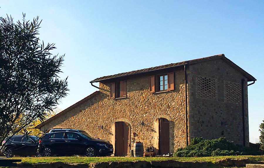 Eins der Gebäude unseres Agriturismos.
