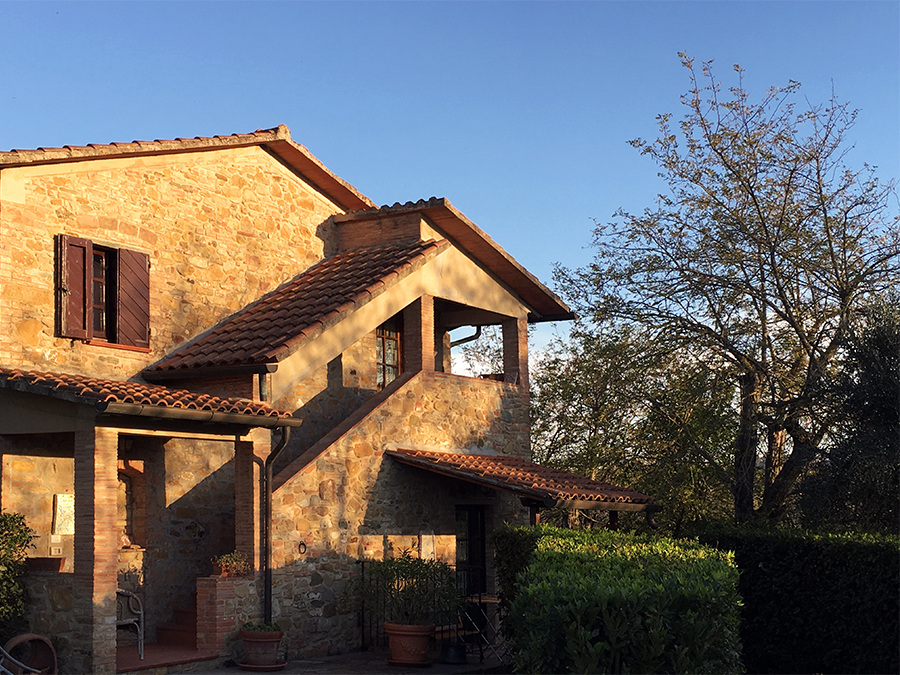 Die Gästehäuser von 'Il Torrino'.