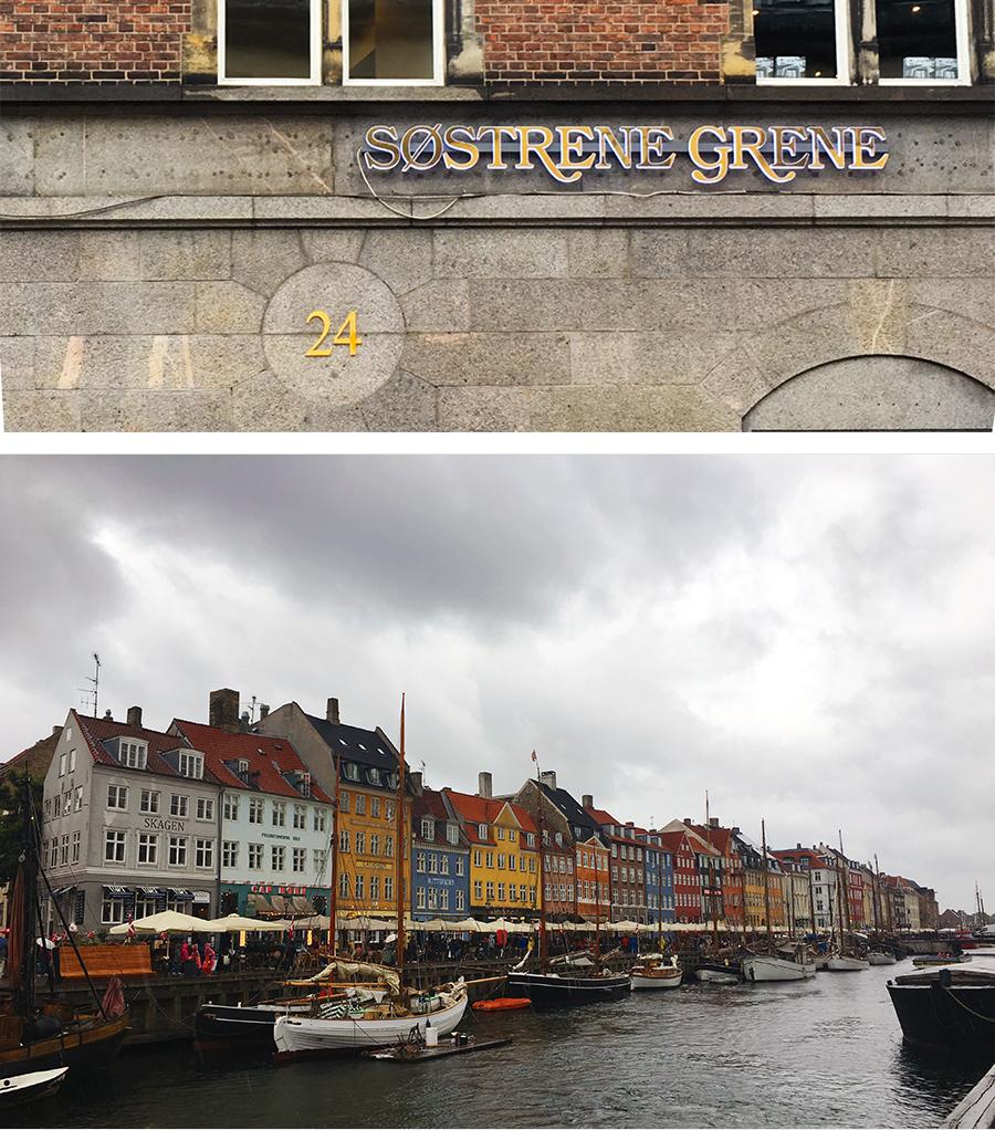 Bunte Häuser im Hafen von Nyhavn.