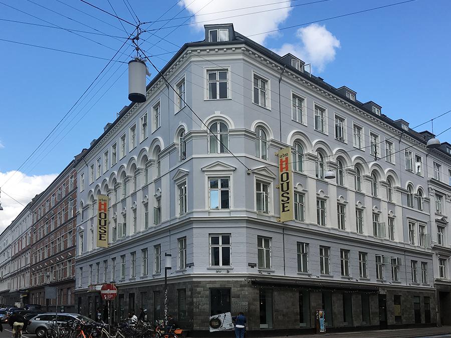 In diesem schönen, historischen Gebäude ist das 'Urban House Hostel' in Kopenhagen untergebracht.