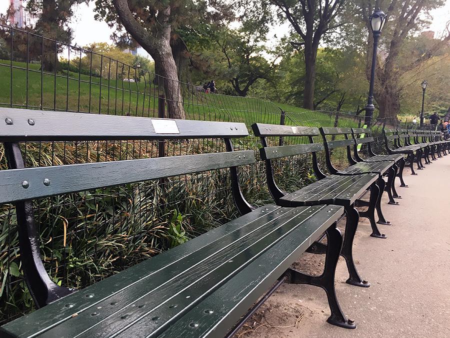 Schnäppchen: Für 7.500$ gehört dir eine eigene Bank im Central Park!