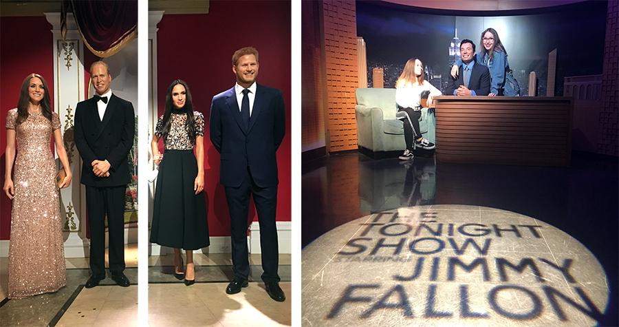 Kate und William, Meghan und Harry sind da, genauso wie Jimmy Fallon von der Tonight Show.