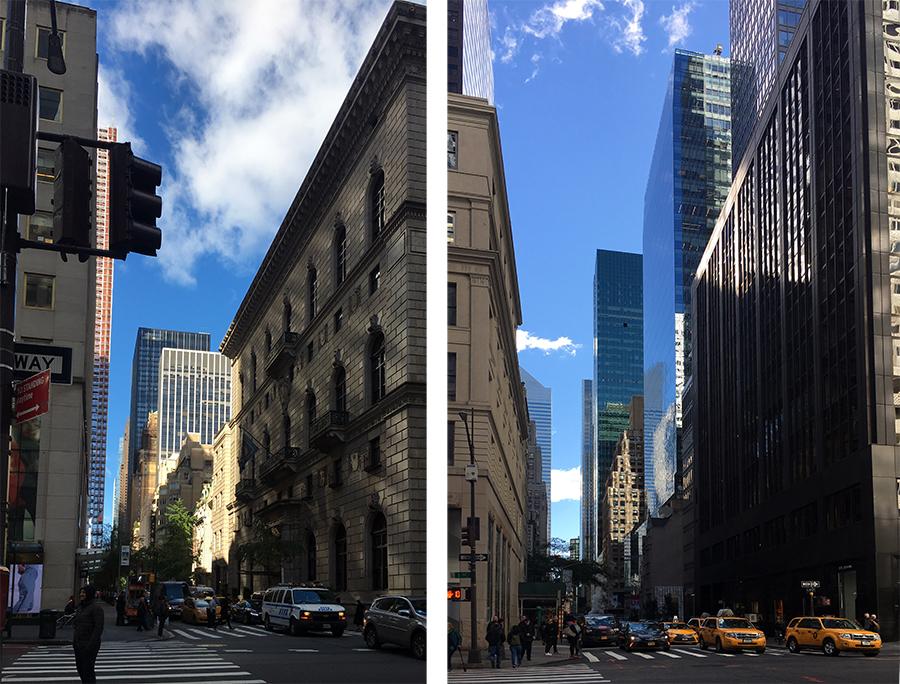 Einmal die berühmte 5th Avenue hinauf...