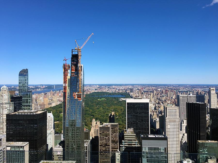 Aussicht auf den Central Park.