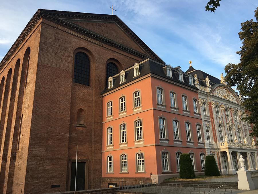 Das Kurfürstliche Palais von Trier.