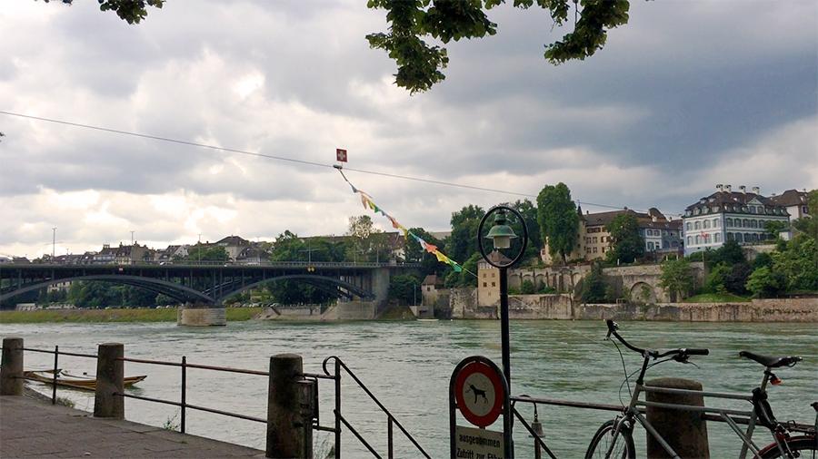 Unser Ziel des heutigen Tages: Basel in der Schweiz.