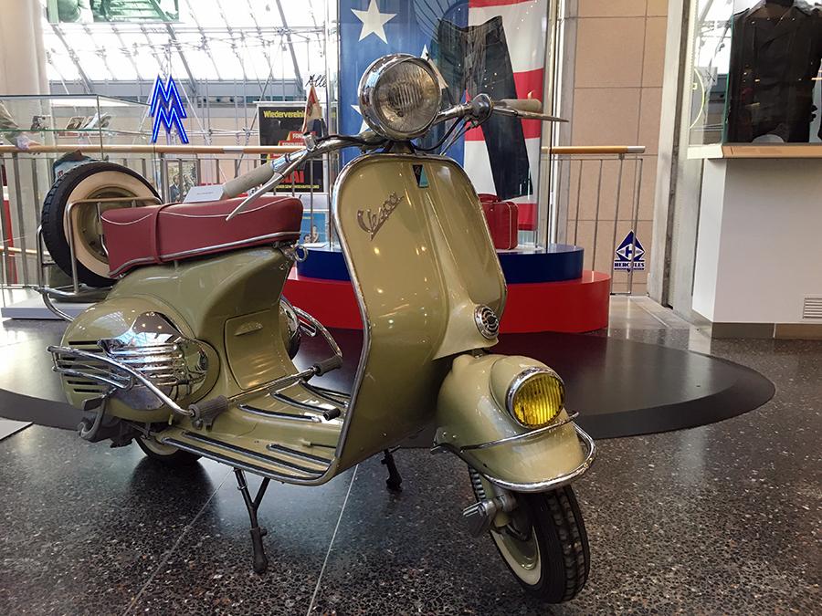 Der einzig wahre Roller: die original italienische Vespa!
