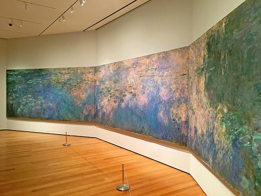 """Claude Monet """"Wasserlilien"""""""