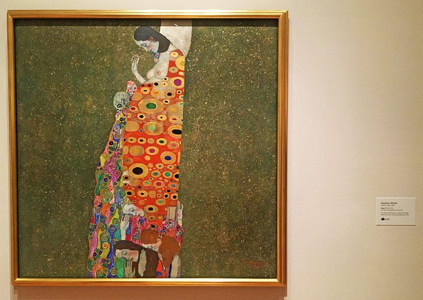 "Gustav Klimt ""Hoffnung II""."