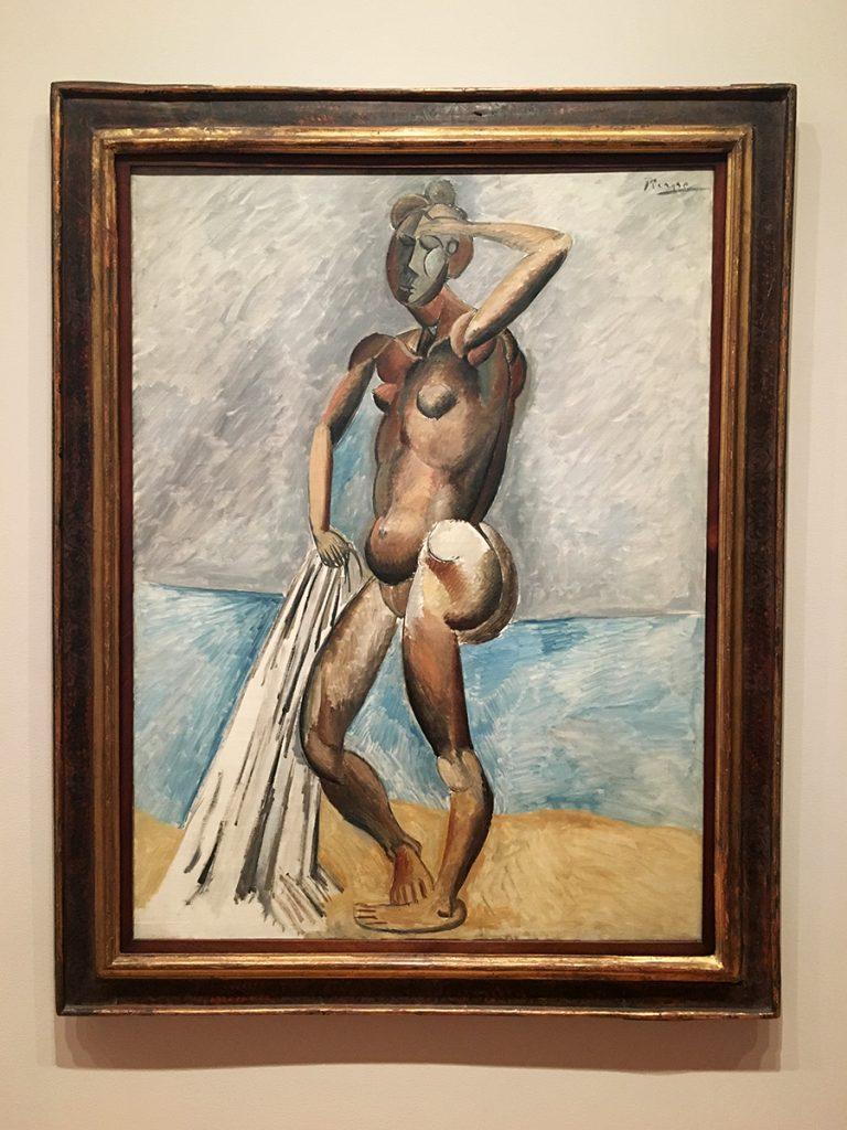 "Pablo Picasso ""Der Badende"""