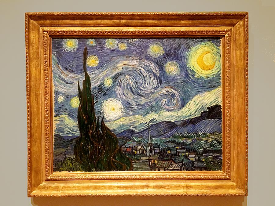 """Vincent van Gogh """"Die Sternennacht"""""""