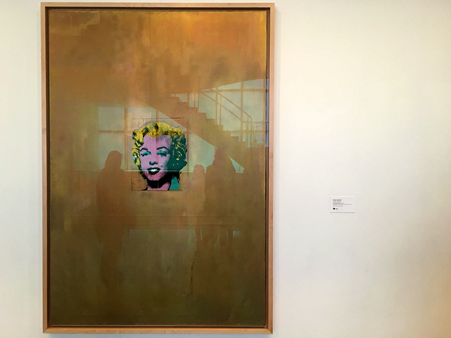 "Andy Warhol ""Marilyn, golden"""