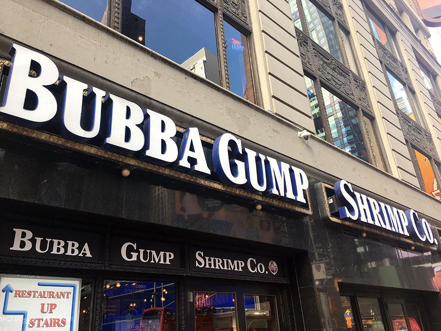 Die 'Bubba-Gump-Shrimp-Company' - gibt es wirklich!