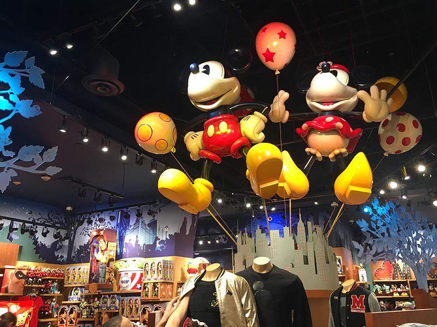 Mickey und Minnie, und alles, was man sich sonst noch so vorstellen kann, ist hier!