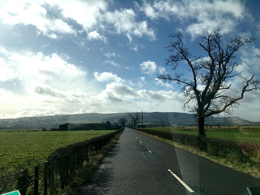 Rollin', rollin', rollin'... immer weiter durch die schottische Landschaft.