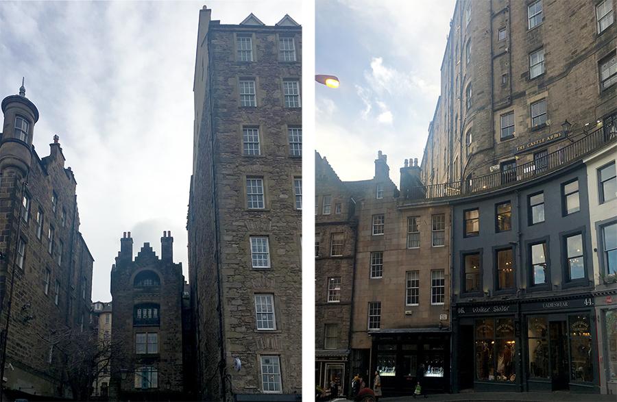 Wenn eine Stadt beweist, dass man auch im Mittelalter schon Hochhäuser baute, so ist es Edinburgh.