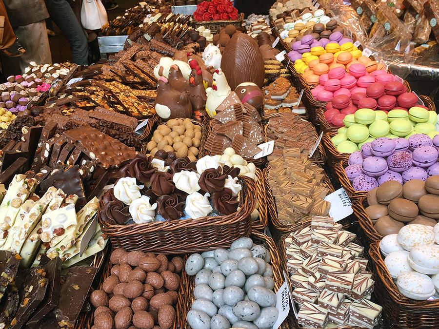 Spätestens bei den Süßigkeiten dürfte es schwerfallen, nein zu sagen.
