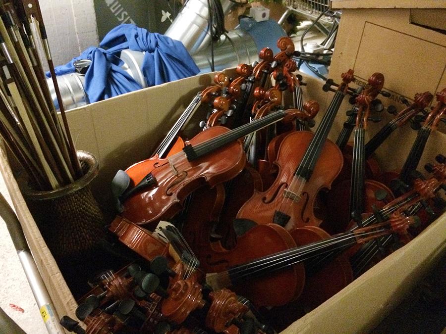 Vermisst jemand zufällig ein Orchester?