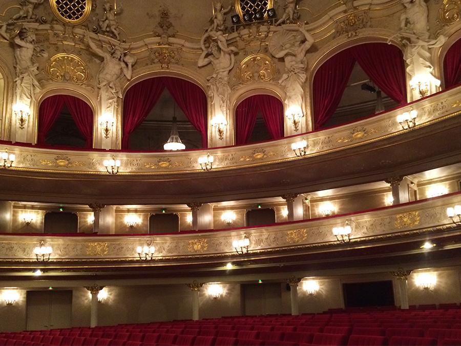 Wow, was für ein Theatersaal!