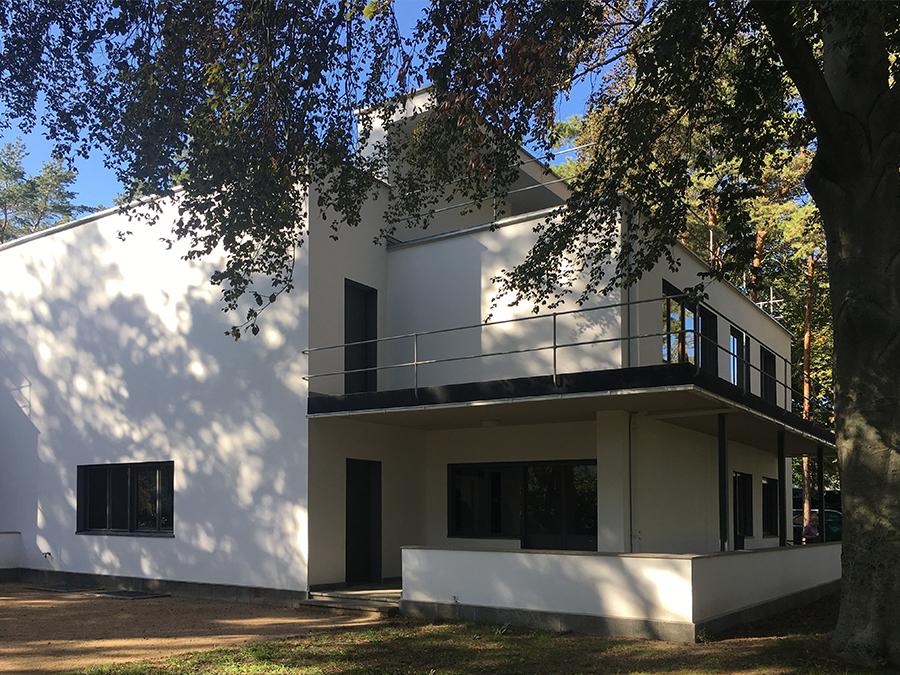... und als letztes das Doppelhaus von Wassily Kandinsky & Paul Klee.