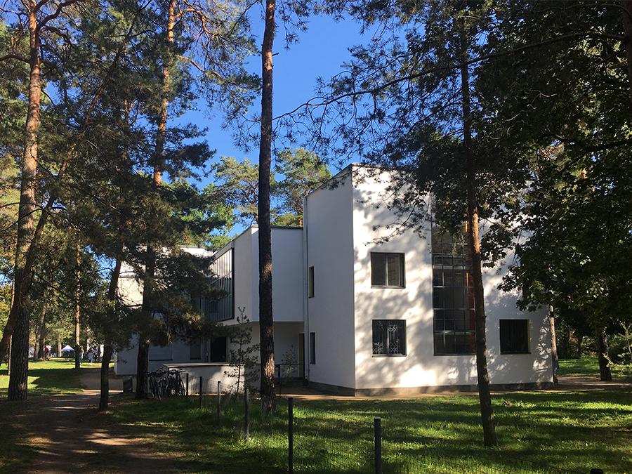 Das Doppelhaus von Lyonel Feininger & László Moholy-Nagy...