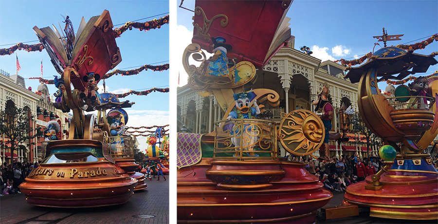 Den Anfang machen natürlich Mickey und seine Freunde samt magischem Geschichtenbuch.