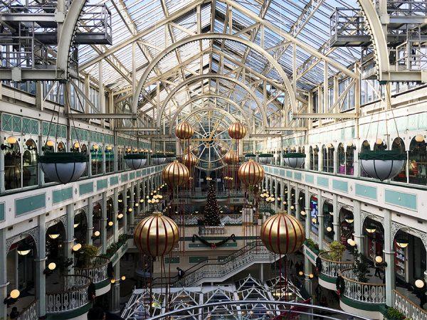 Dieser Ausblick in der Mall in Stephens Green verzaubert auch Shopping-Muffel.