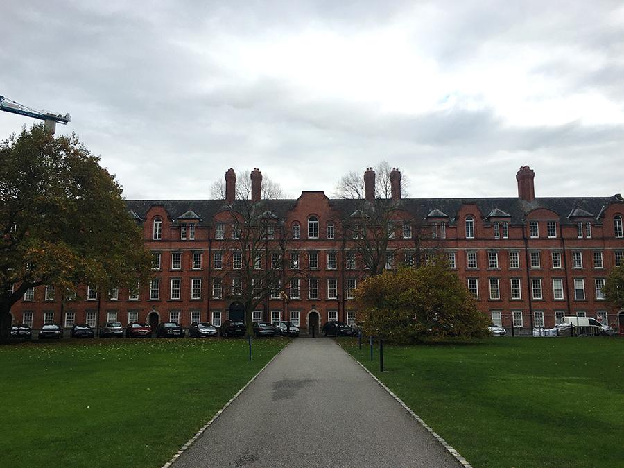 Das Wohnheim des Trinity College, sowohl für Studenten als auch für Dozenten.