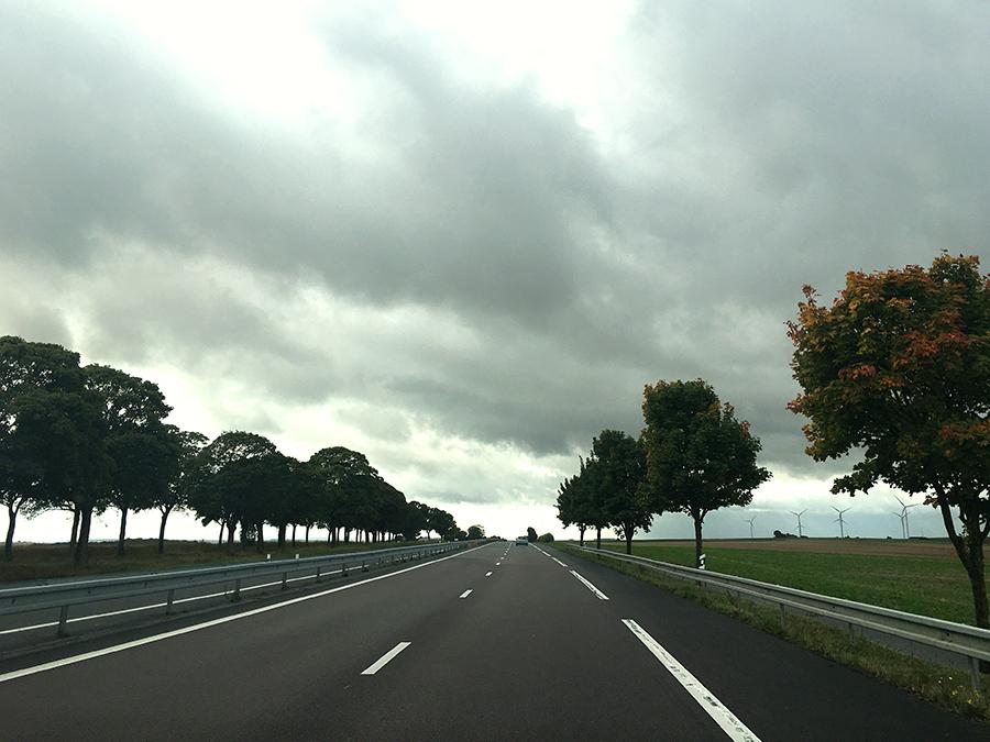 Unterwegs irgendwo in Frankreich.