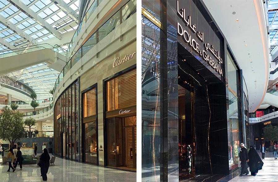 ... und die Anzahl der glitzernden Shops und luxuriösen Läden in den marmorierten Hallen der Dubai Mall ebenfalls!