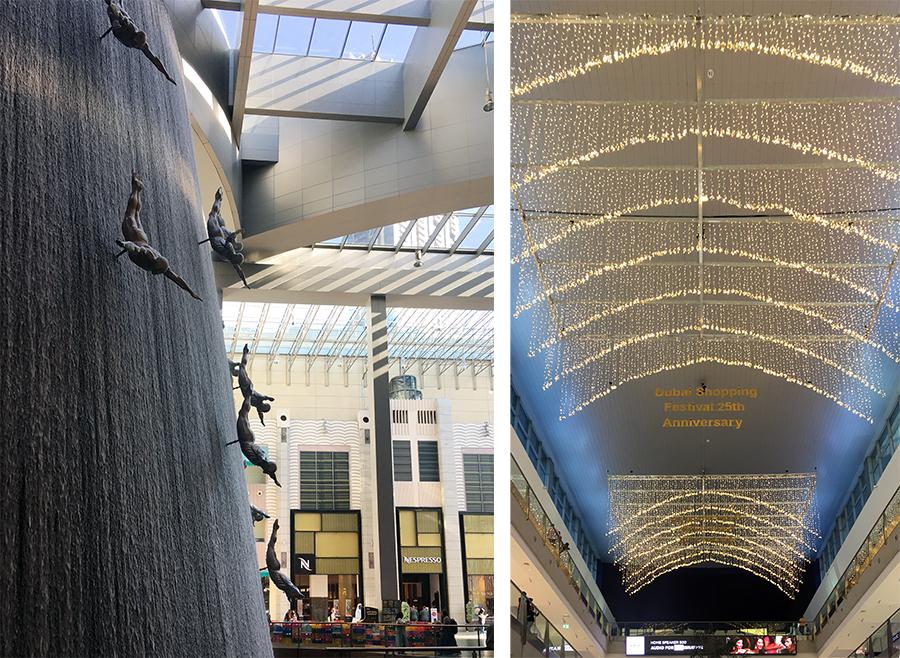 Neben Shops und Läden gibt es noch eine ganze Menge mehr zu gucken in der Dubai Mall.