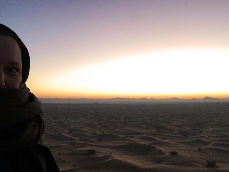 Beduinen-Selfie von mir...
