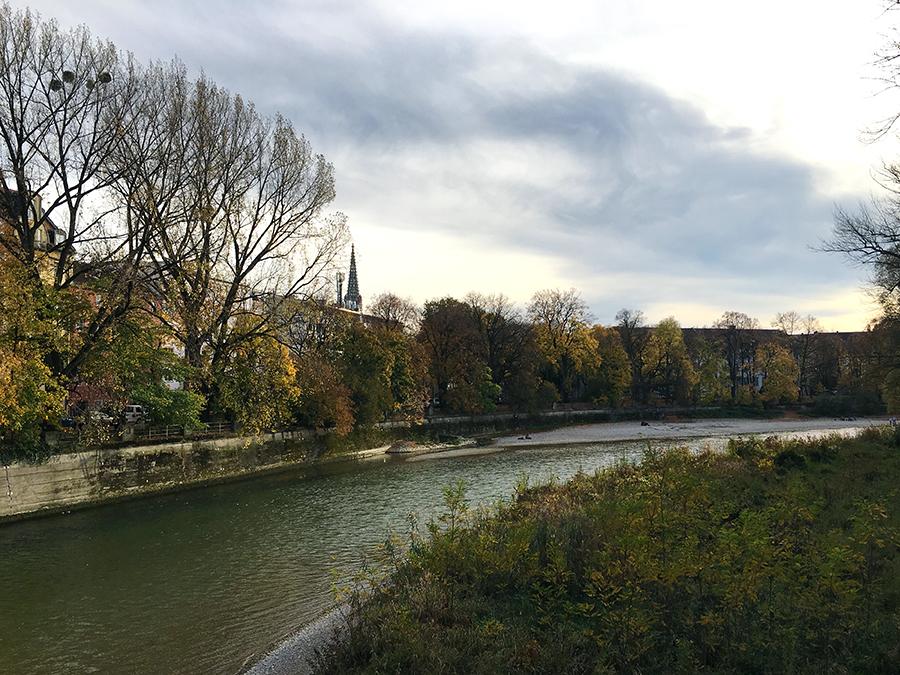 Also, das hat uns wirklich gut gefallen hier in München an der Isar!