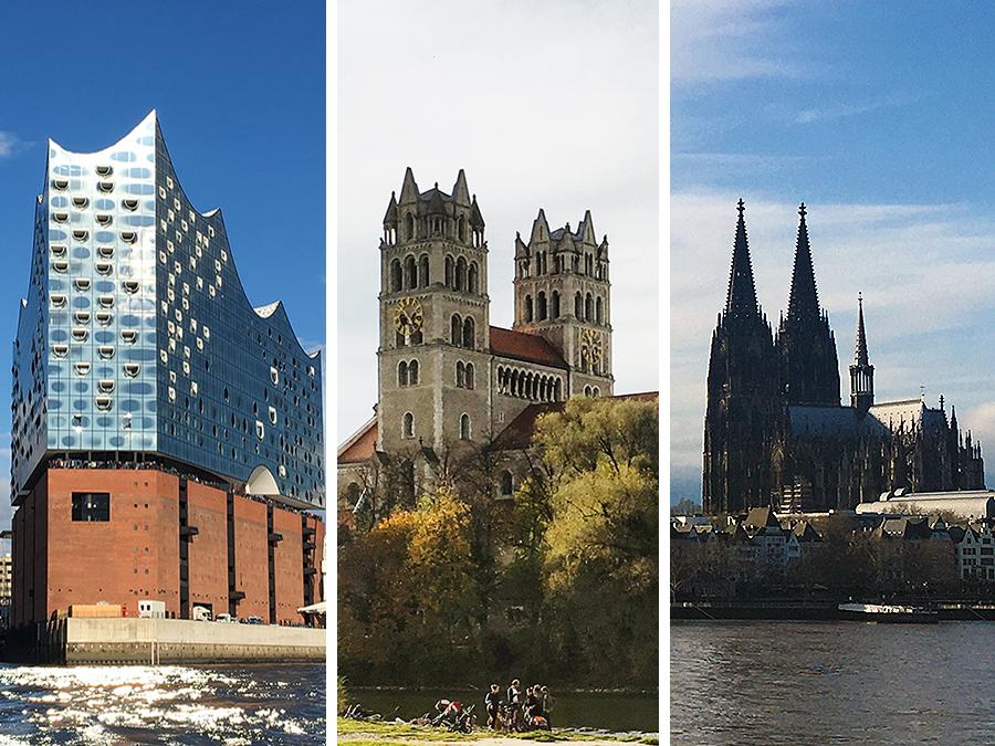 Hamburg, München oder Köln ? Jede Stadt hat ihren ganz eigenen Charme!