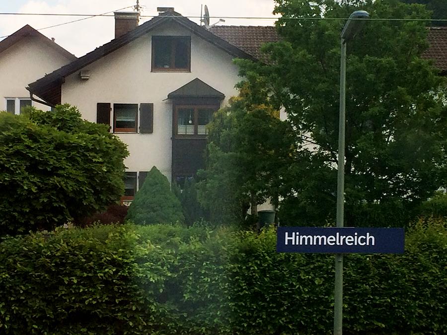 Im Himmelreich wohnen... so, so!
