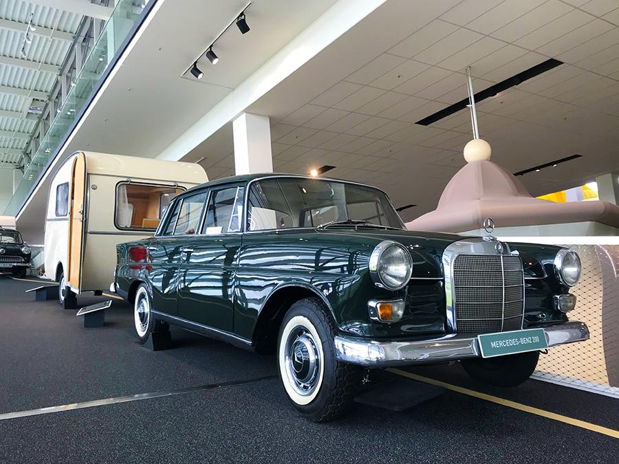 ... dieser schöne, altehrwürdige, klassische Mercedes Benz...